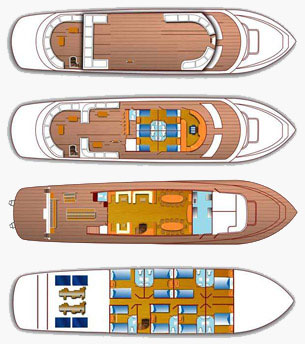 Boat Specification Red Sea Liveaboards M/Y Grand Sea Serpent